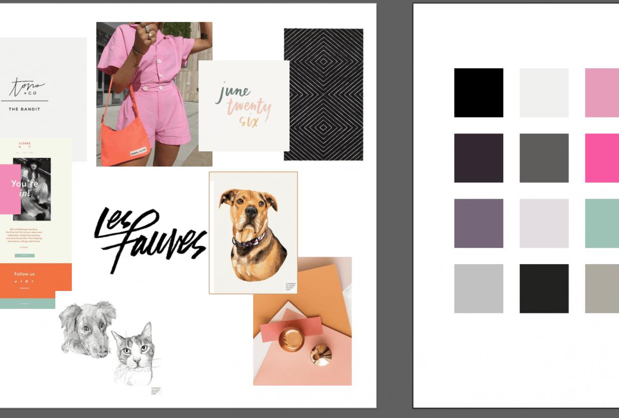 My Unique Color Palette Project - student project