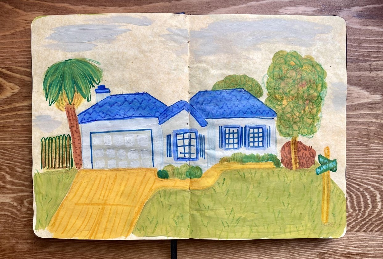 Childhood Home - student project
