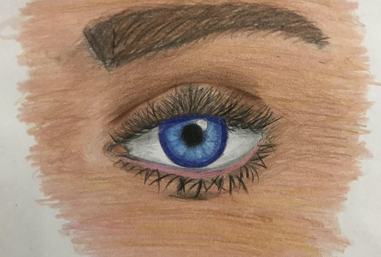 blue eye - student project