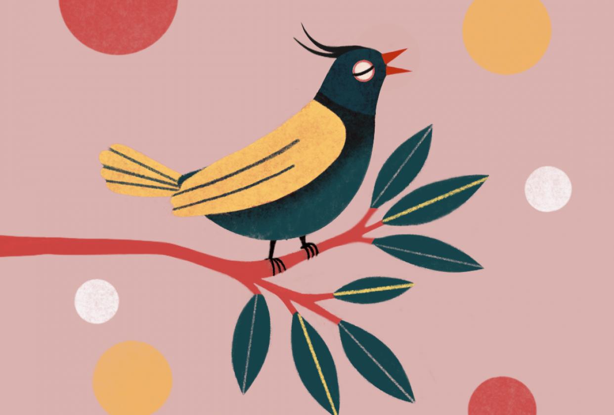 Singing bird - student project