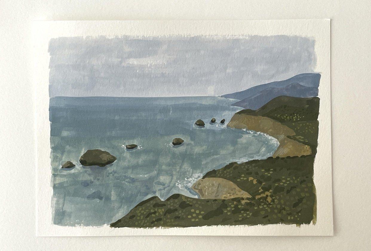 Sea scape - student project