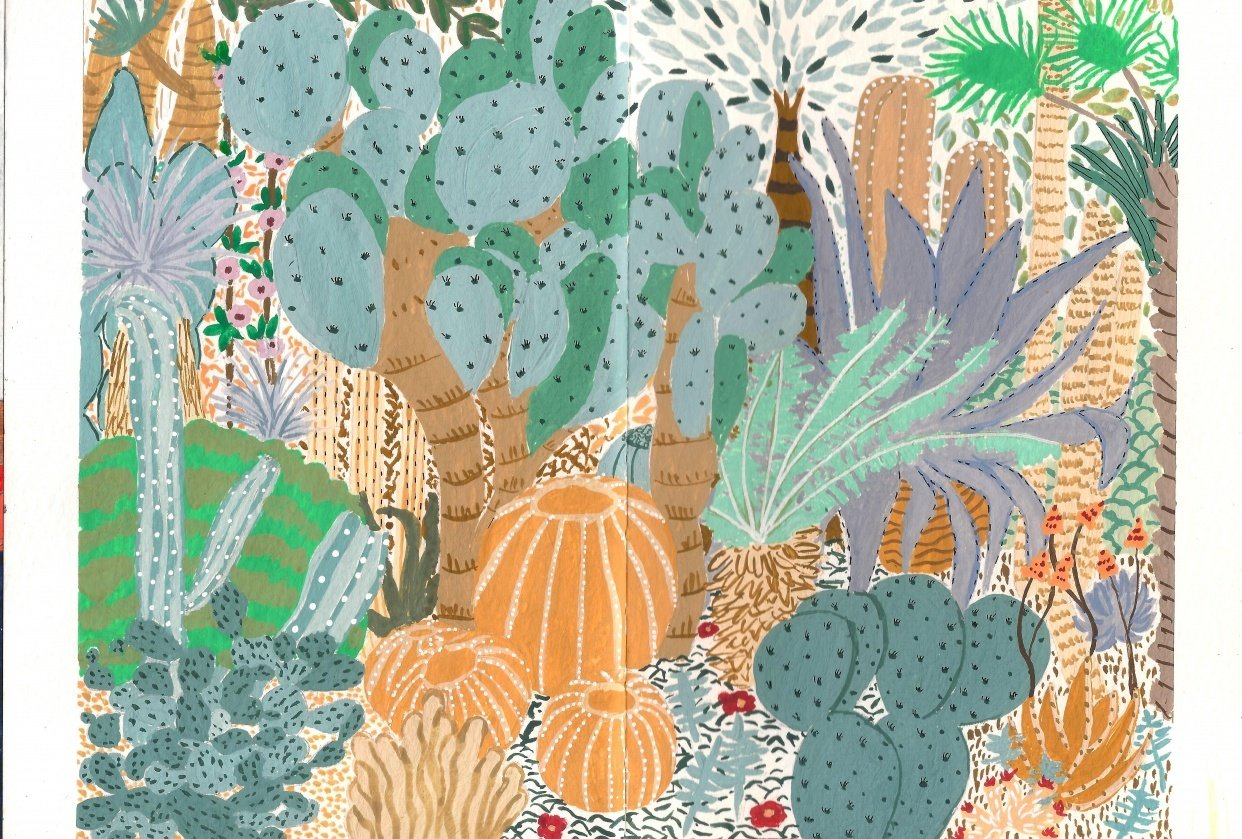 Botanical Garden - student project