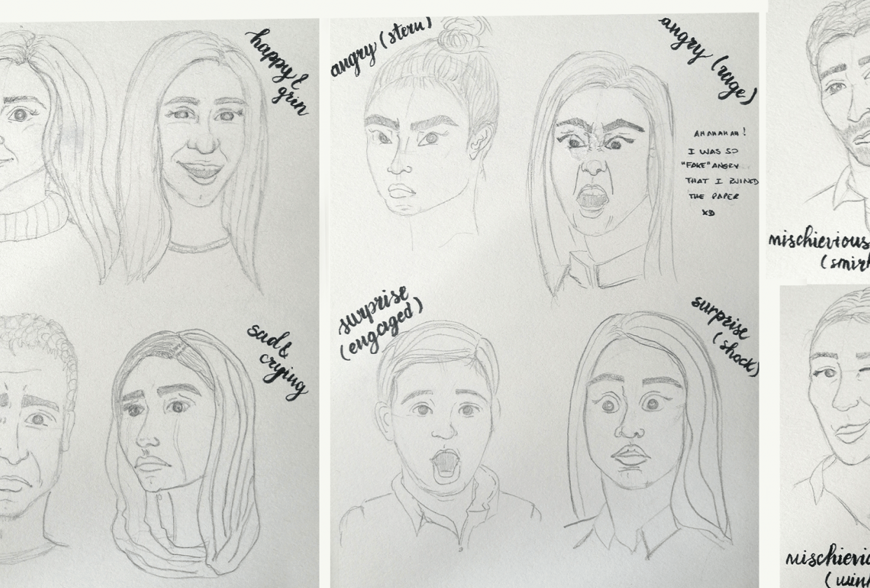 Facial Expressions with Annie! - student project