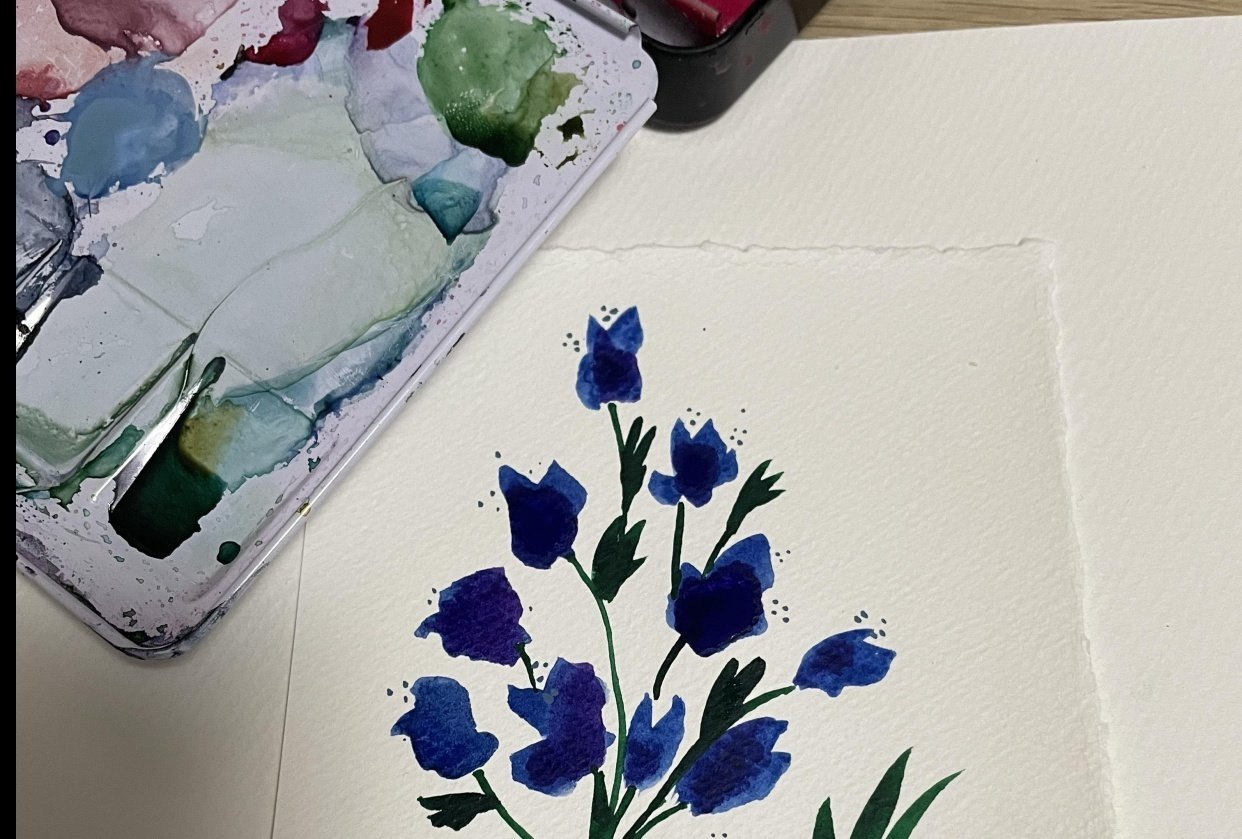 Flowers - student project