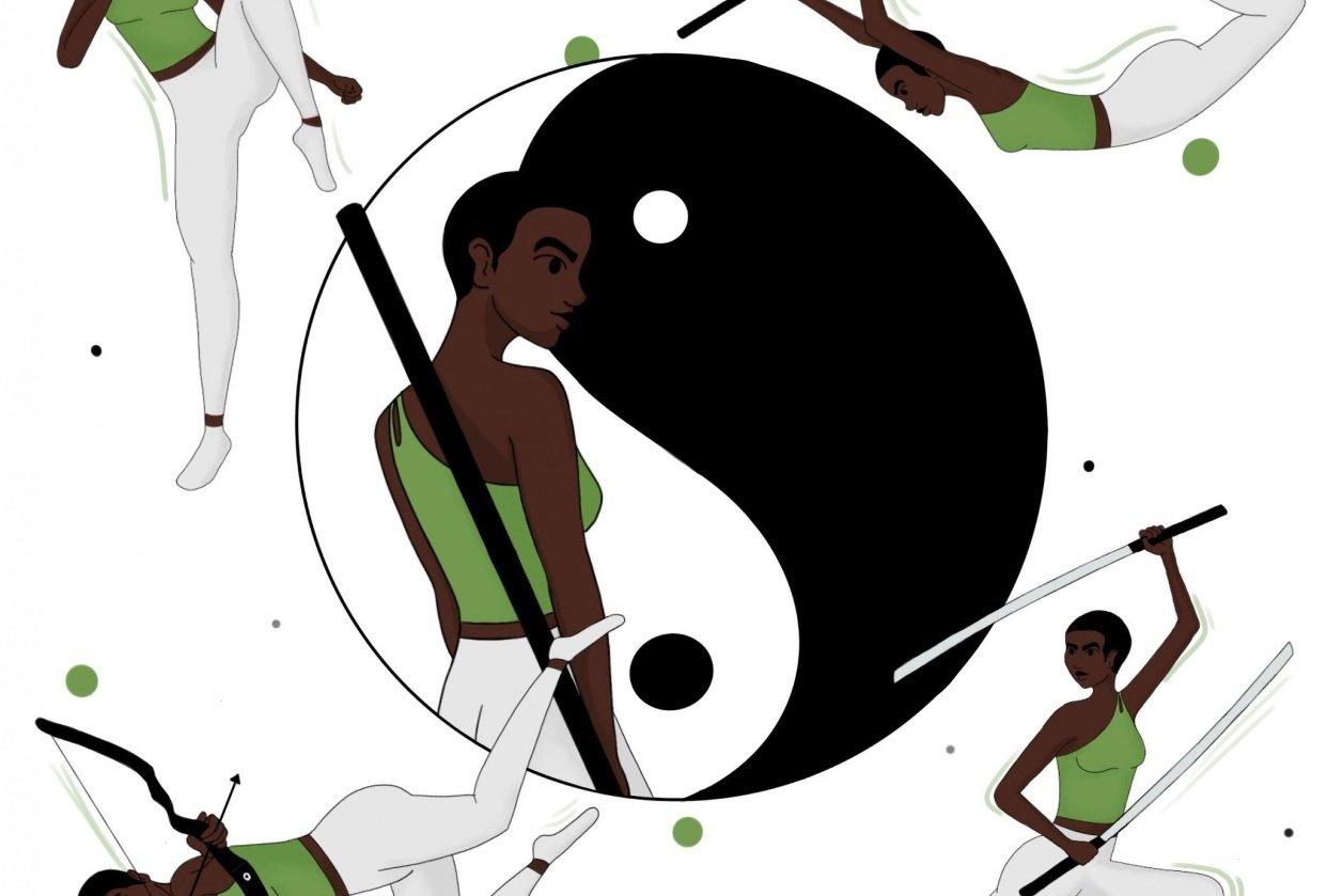 Zen Warrior - student project
