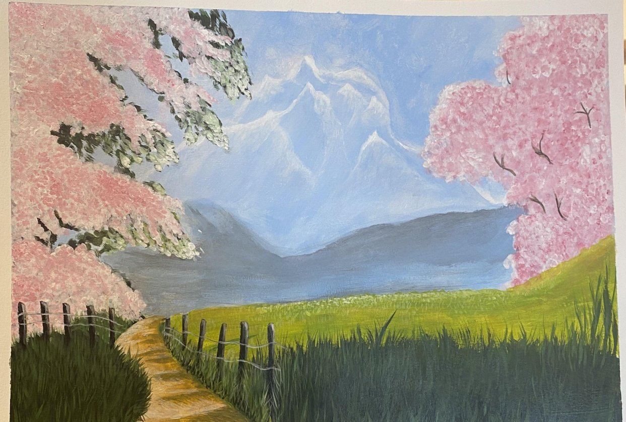 Beautiful Landscape - student project