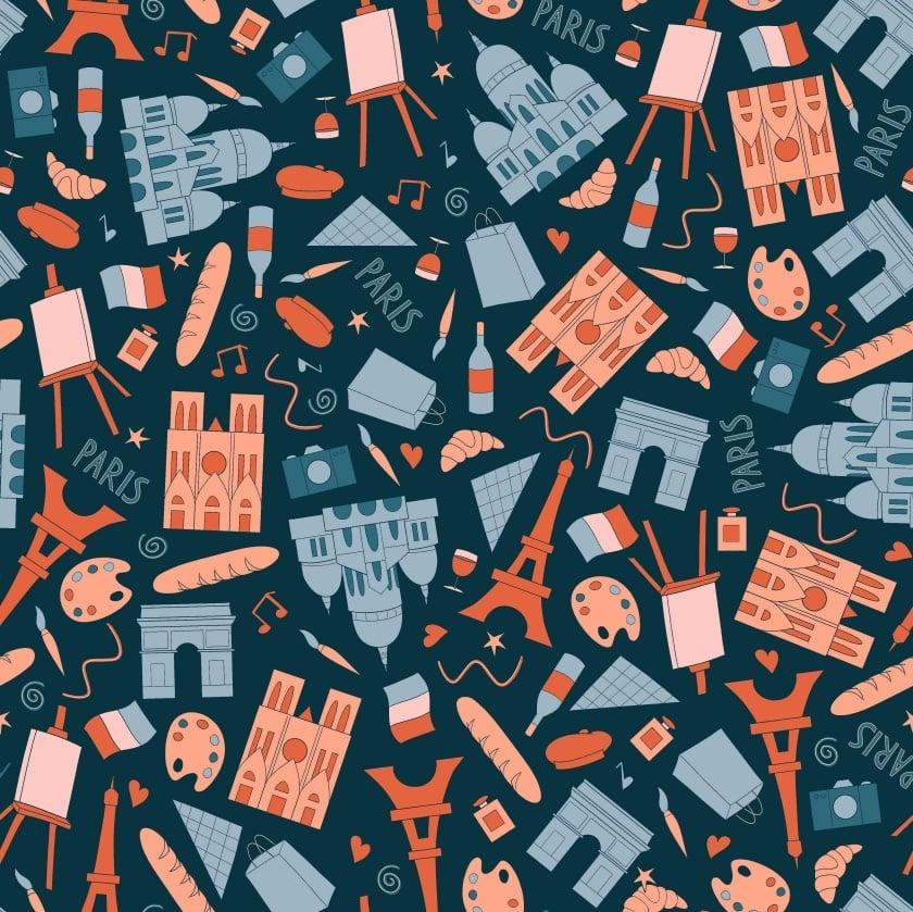 Paris Pattern - student project