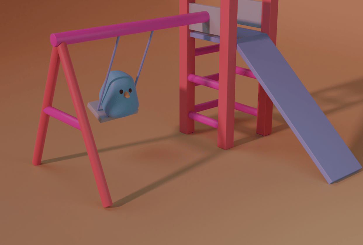 Bird and Swing - student project