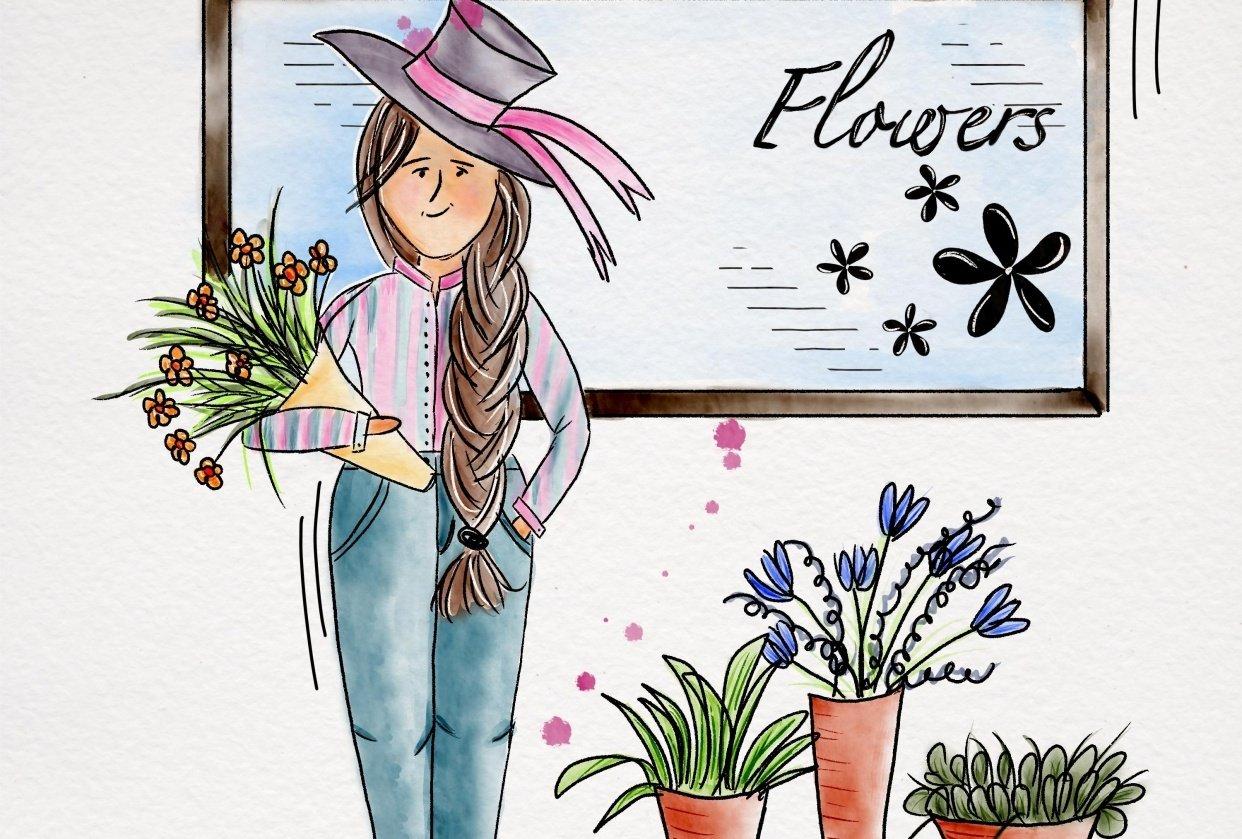Flowershop - student project