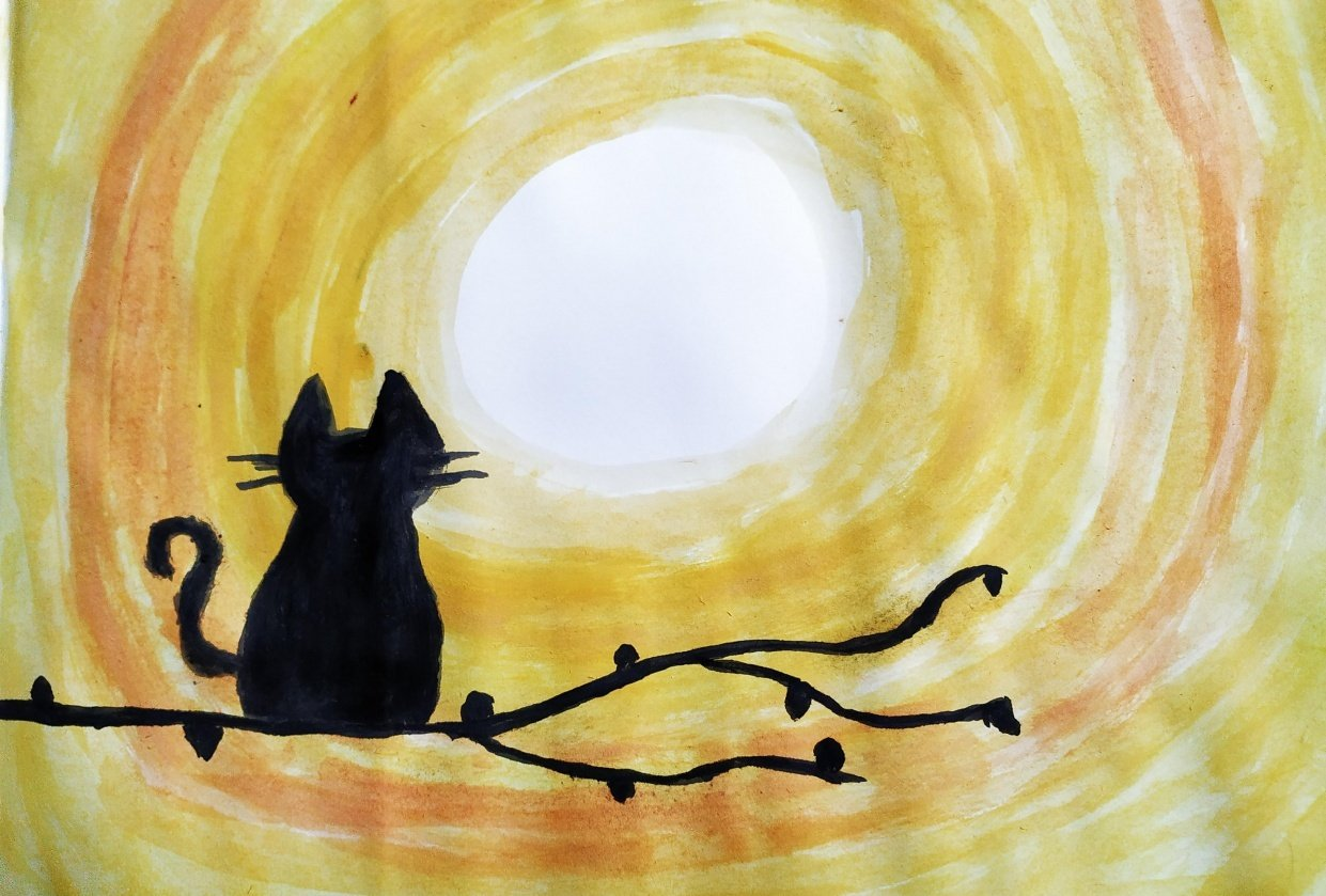Moon Cat - student project