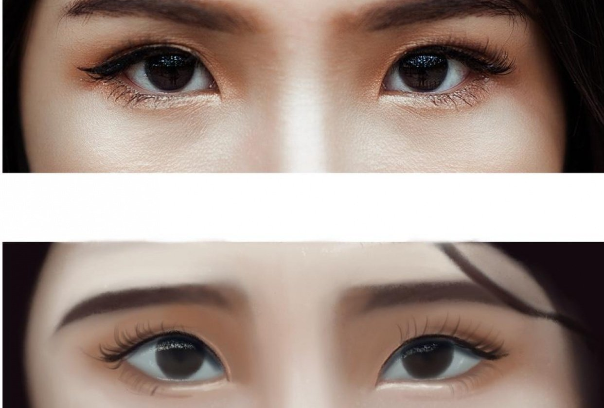 Practicing eye - student project