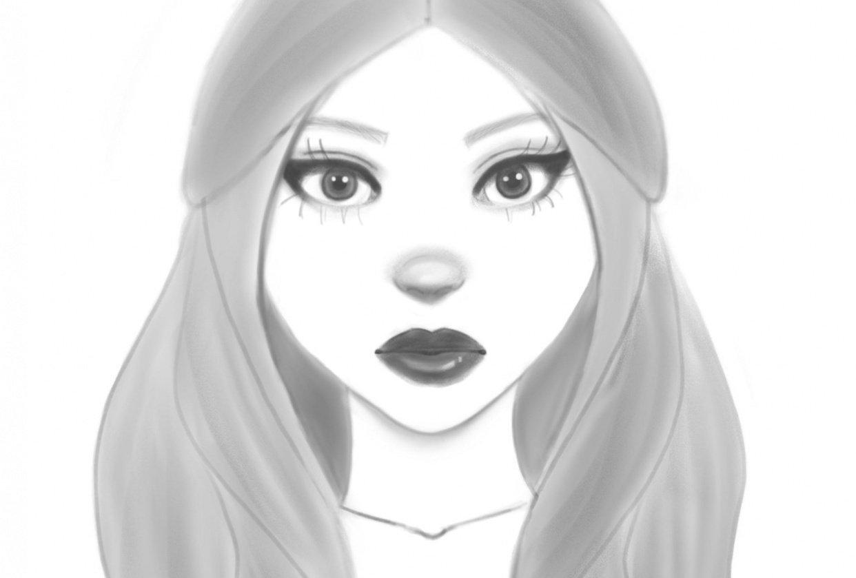 Procreate sketch - student project