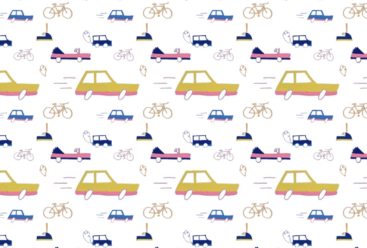 Car pattern repeat - student project