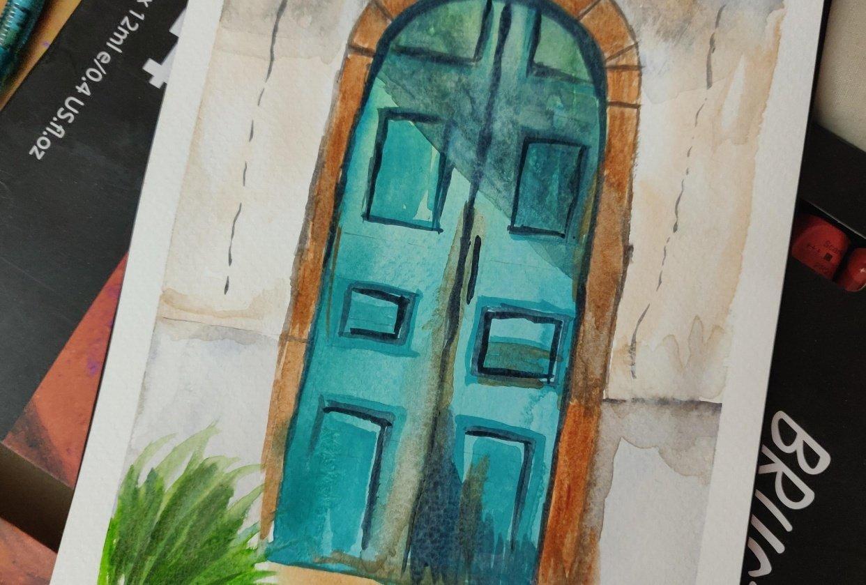 Rustic Doors - student project