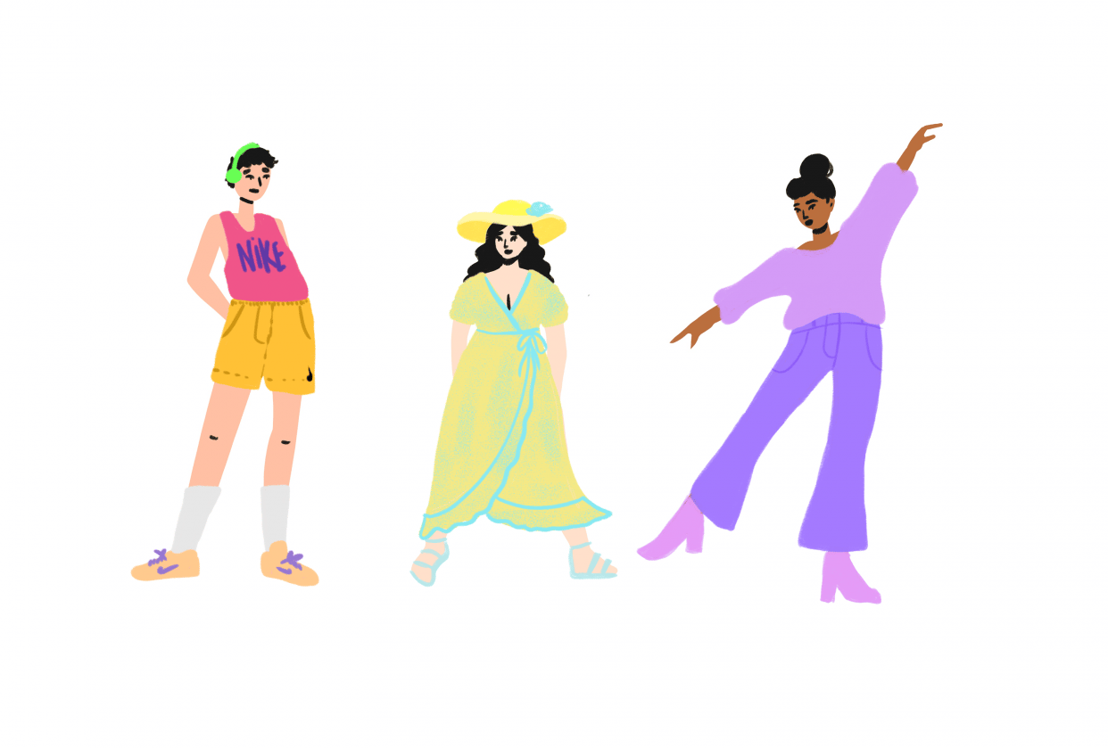 Fun With Figures - Outfits - student project