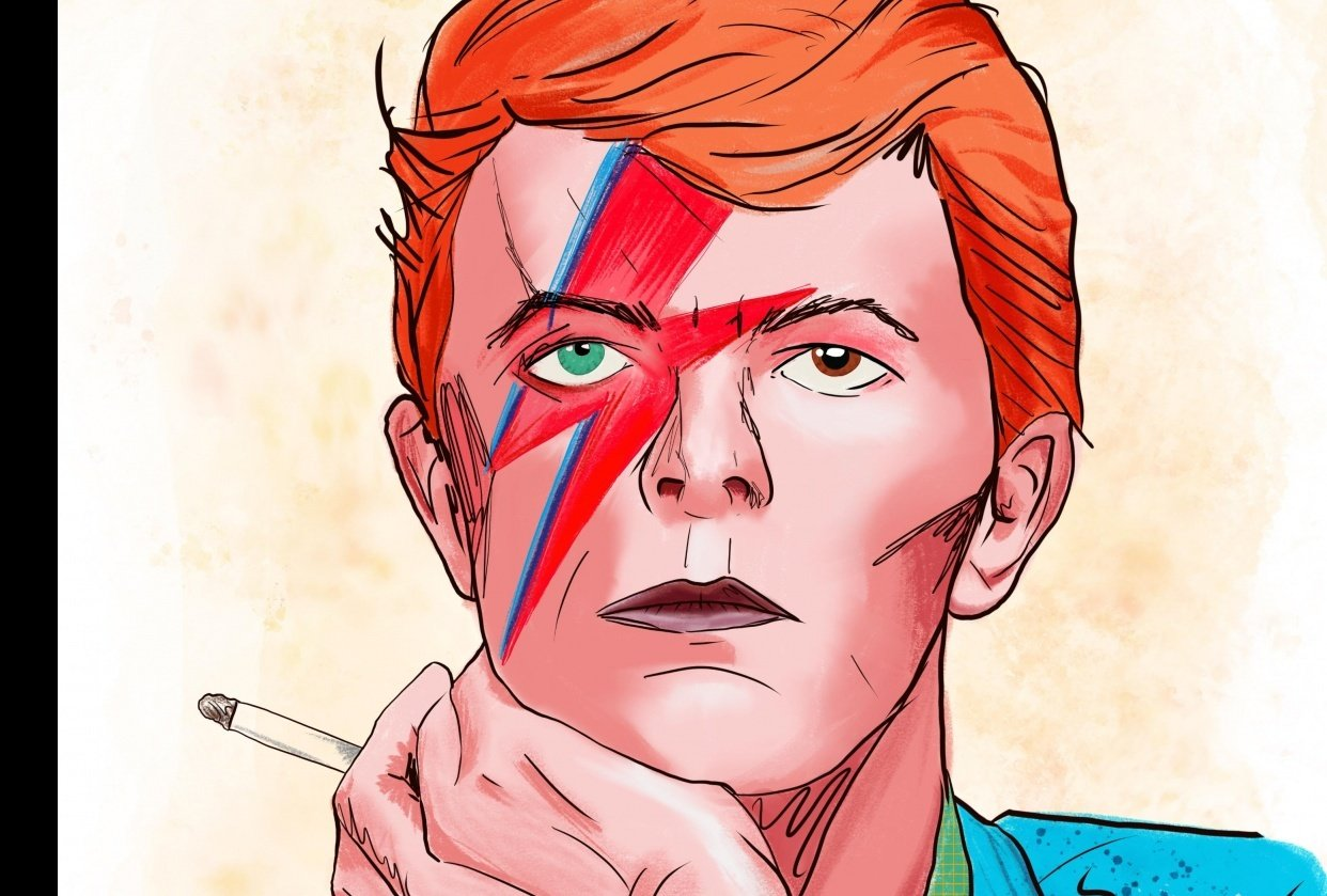 David Bowie - student project