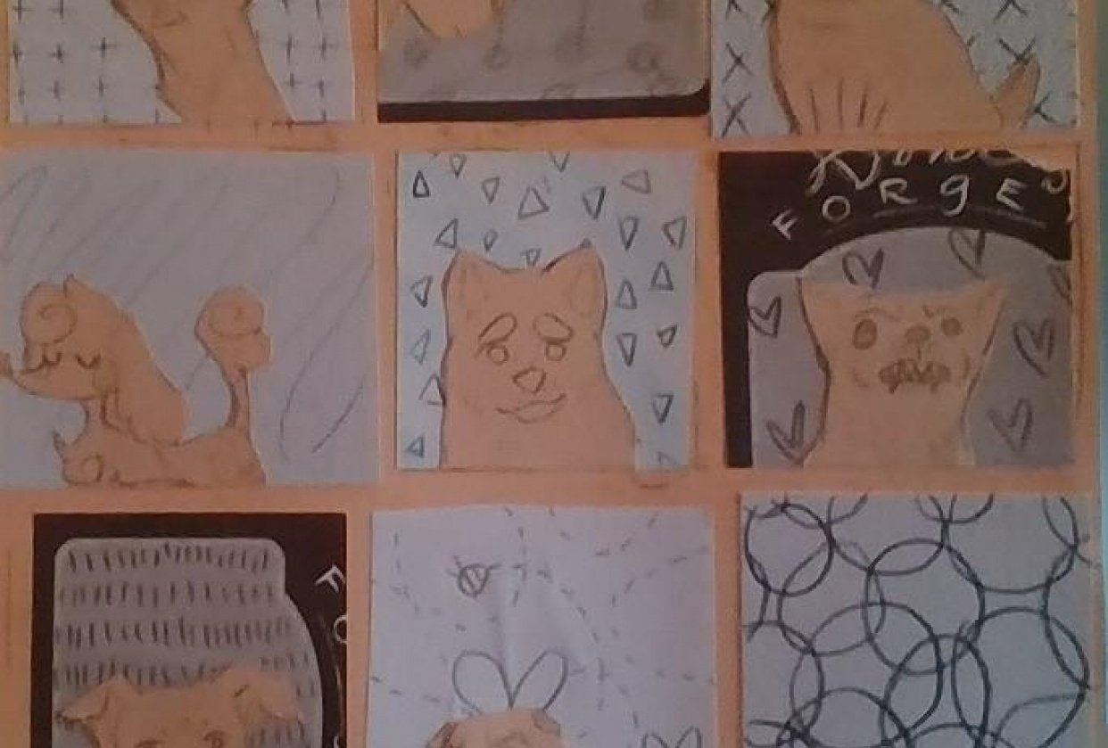 Some Dogs in Low Quality - student project