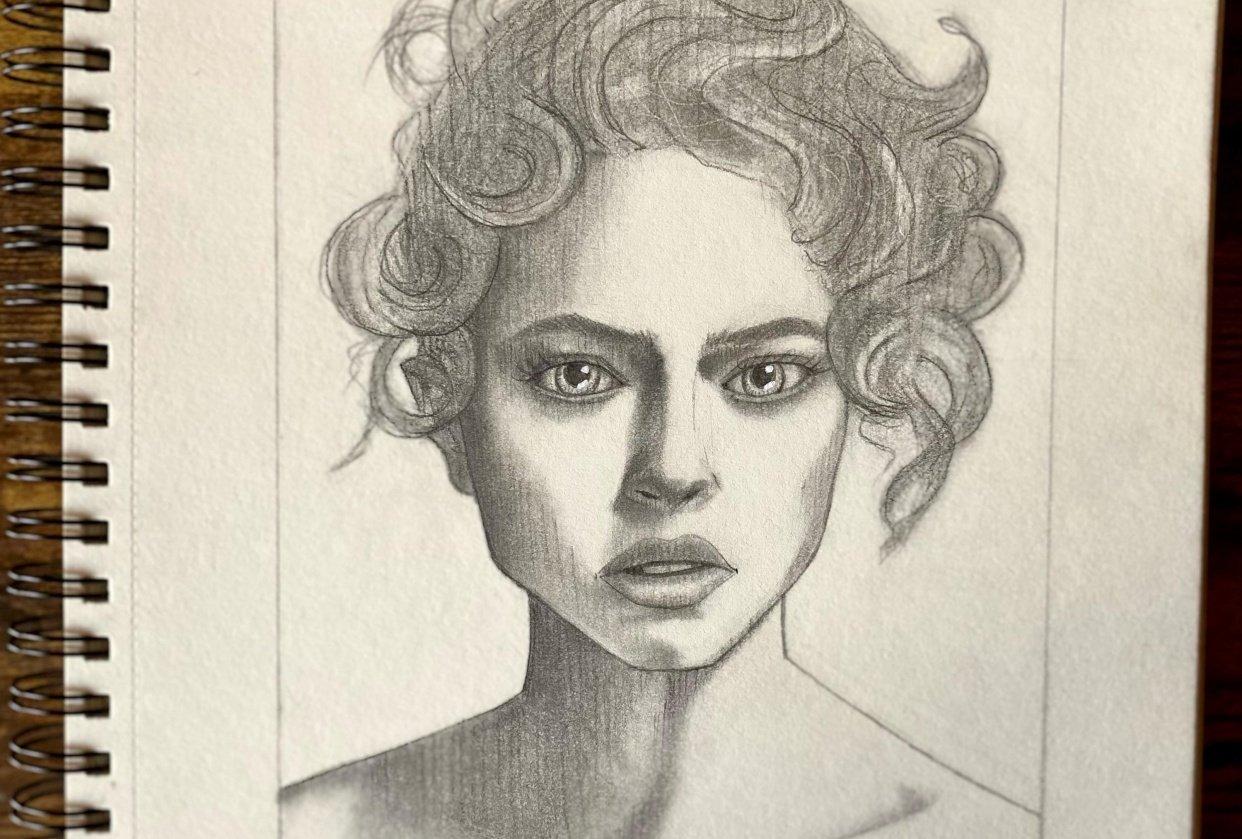 Stylized Portrait - student project