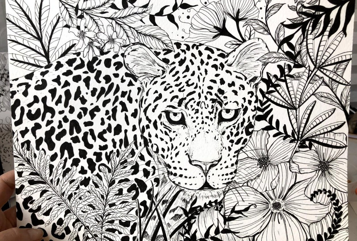 Jaguar in the Jungle - student project