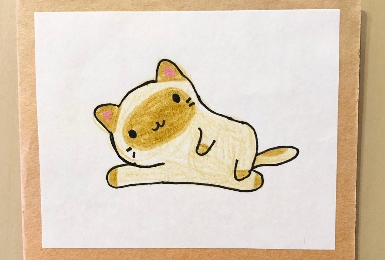 Cute and Kawaii Cat - student project