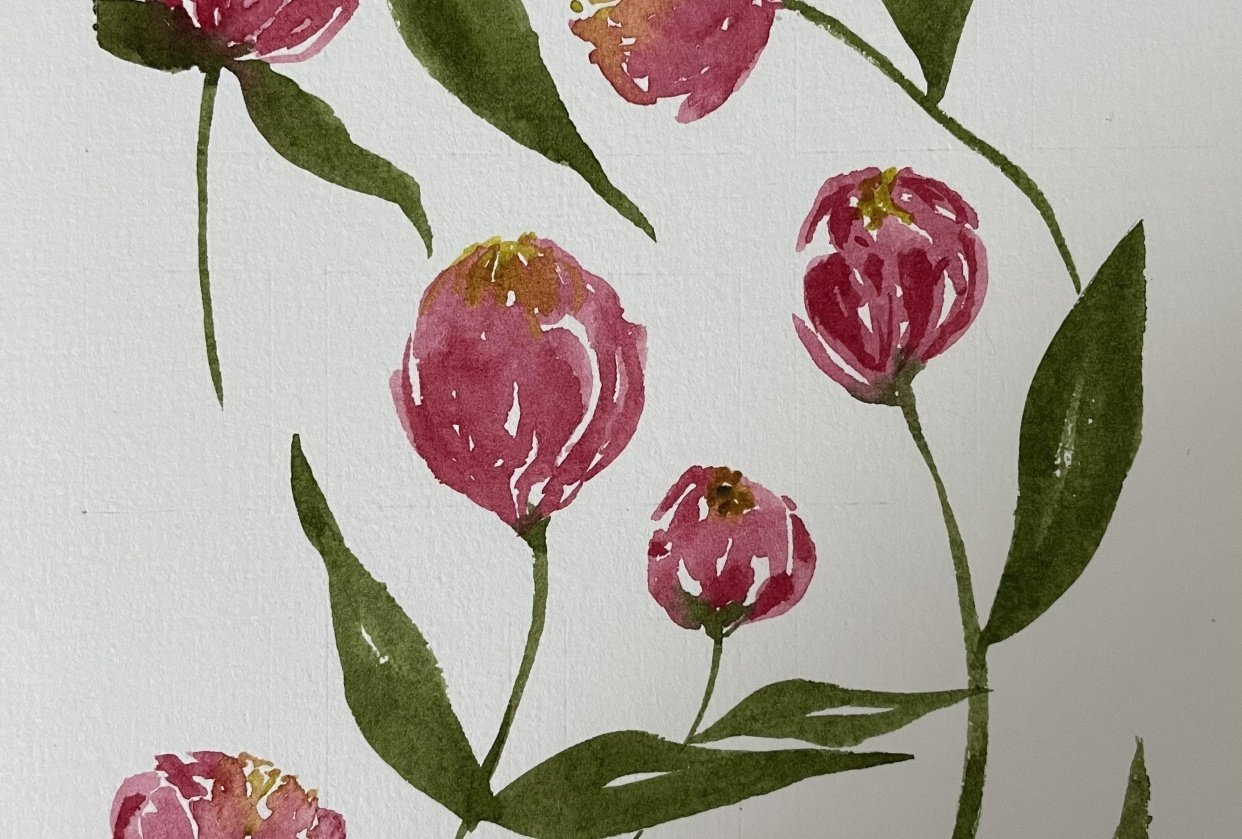 Loose Tulips - student project