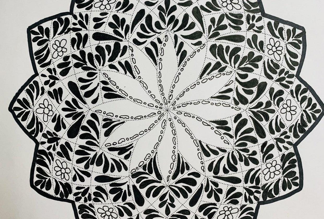 Mandala Art - Hoomyrah Rambhia - student project