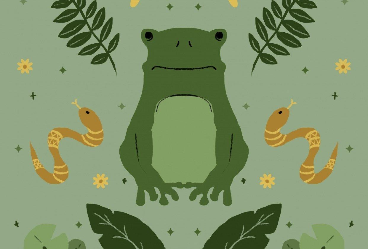 Froggo @froggograbsbrush - student project