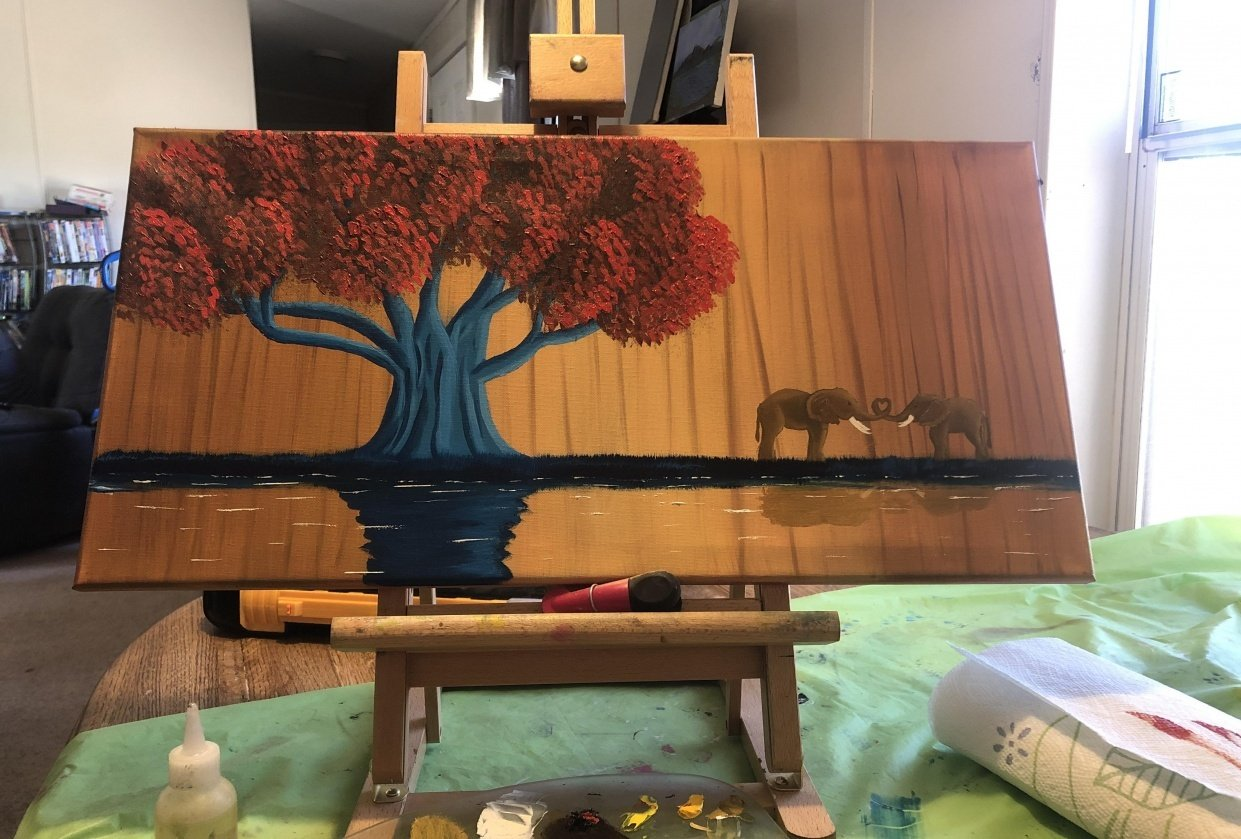 The Elephant Tree - student project