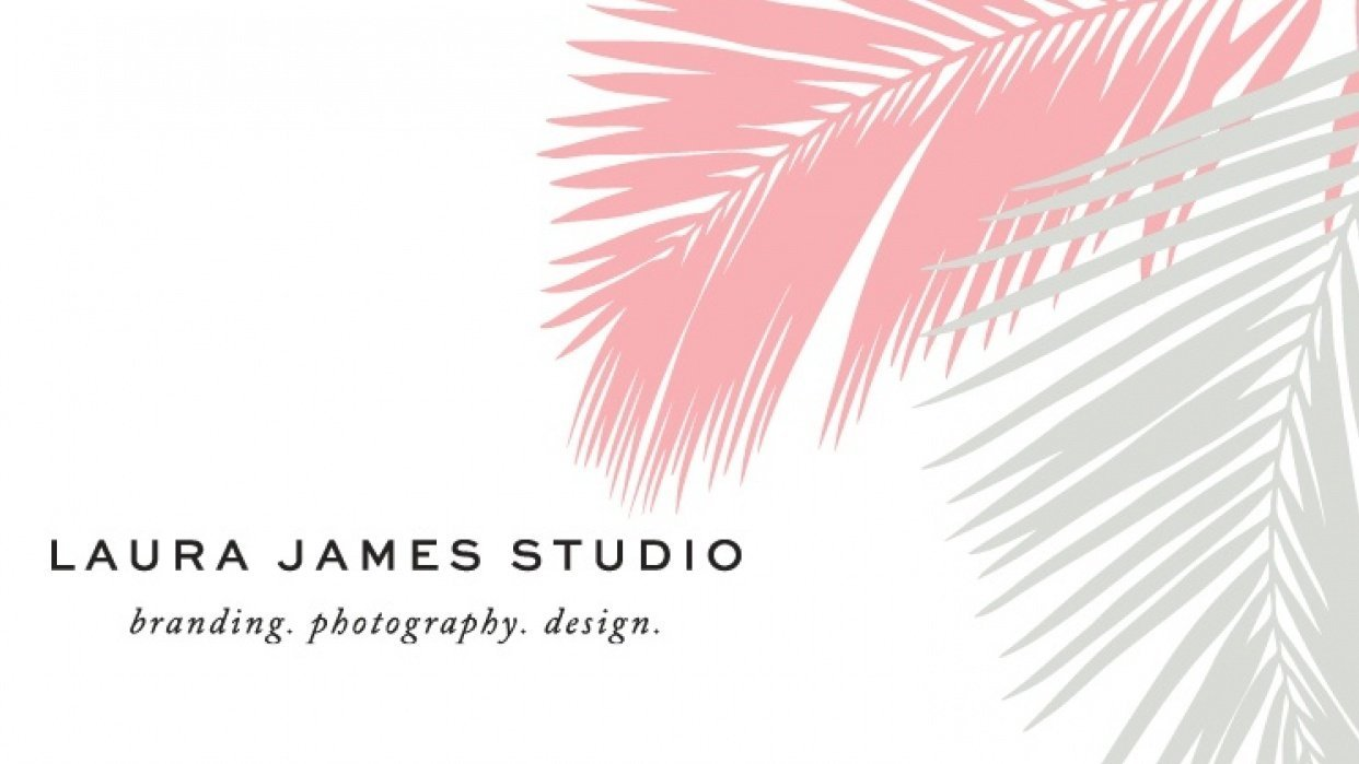 Laura James Studio Brand guide - student project