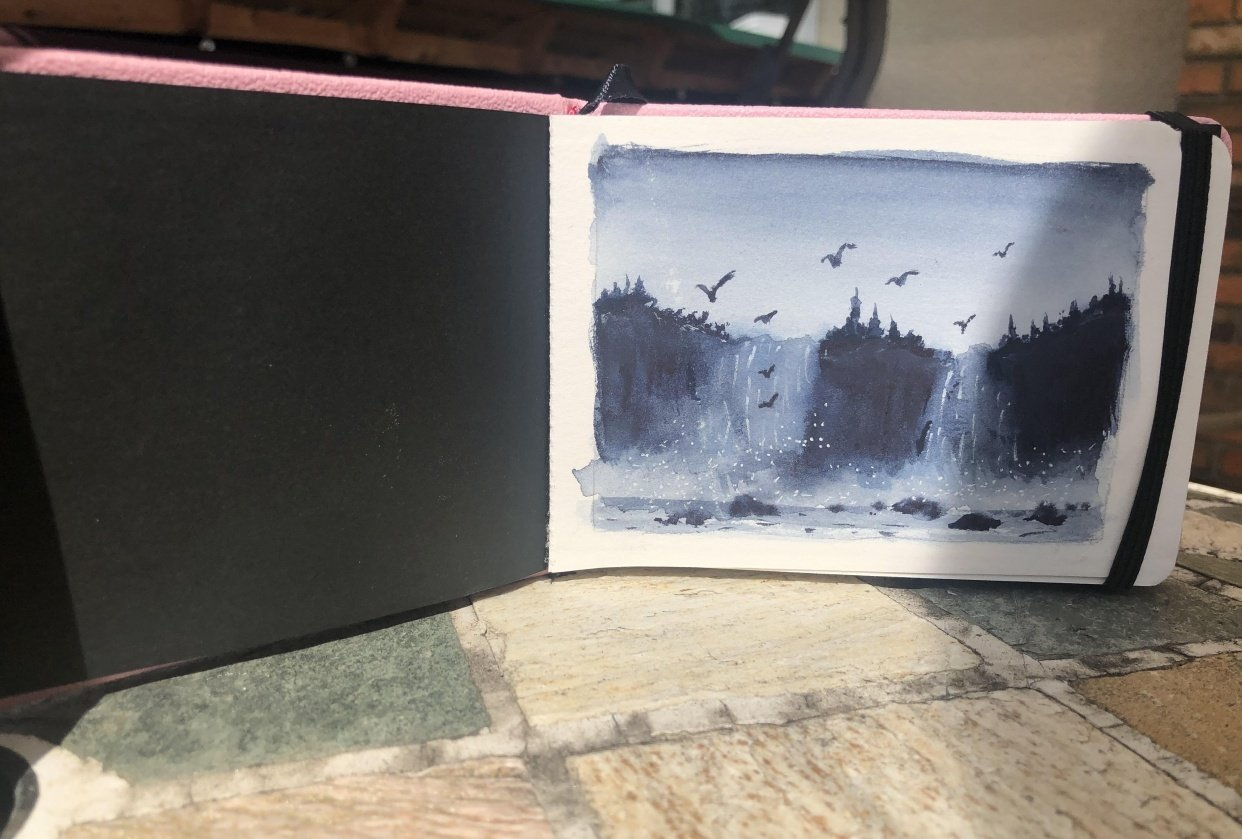Waterfalls - student project