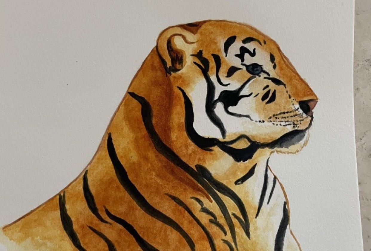 Teresa's Lion - student project