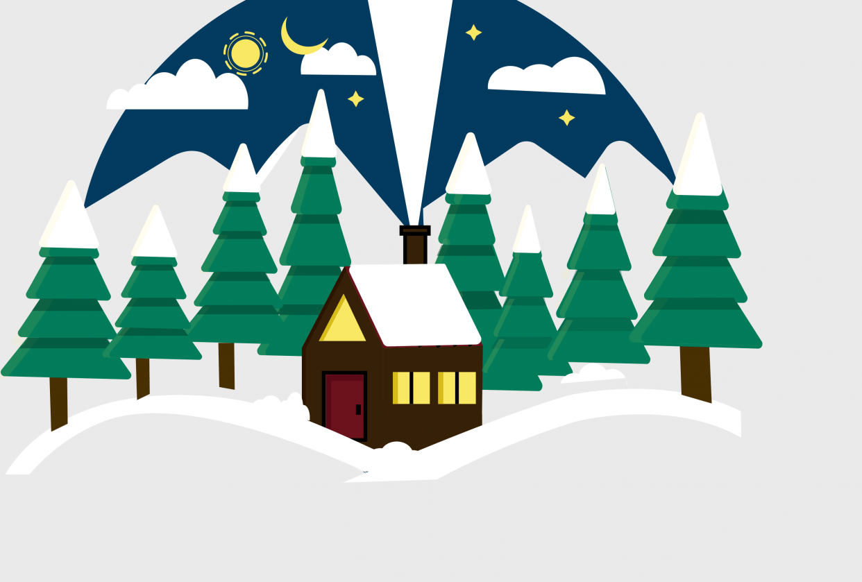 snow house - student project
