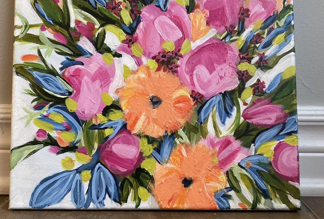 Floral Arrangement - student project