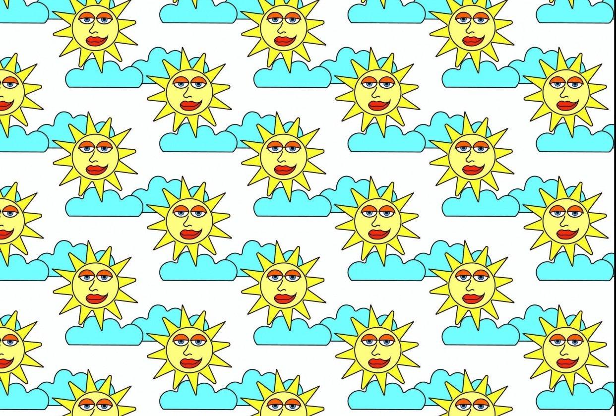 Sunshine Pattern - student project