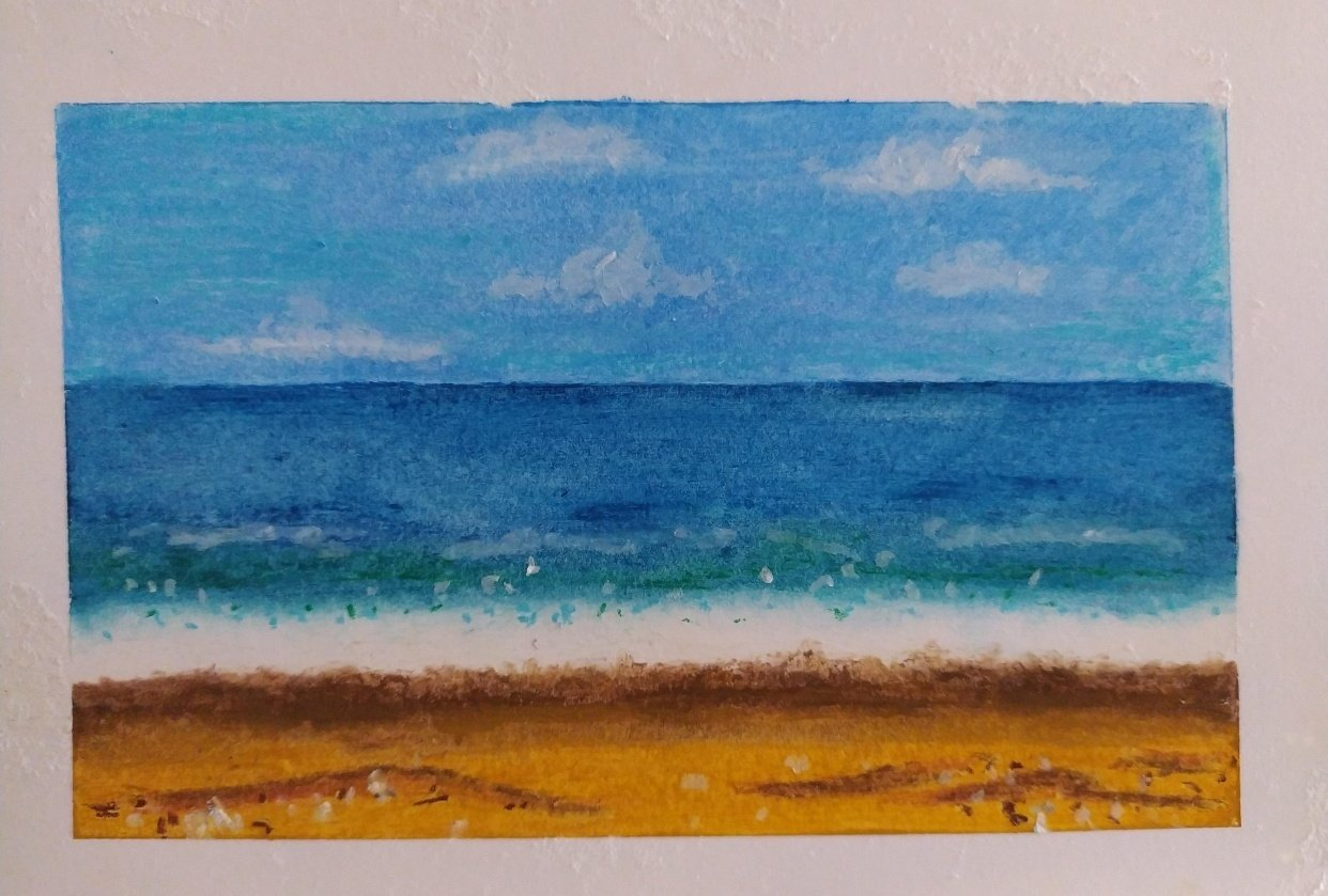 my seascape - student project