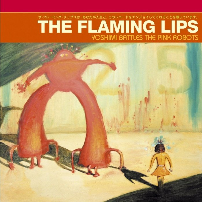 Poster - The Flaming Lips - Yoshimi Battles the Pink Robots - student project