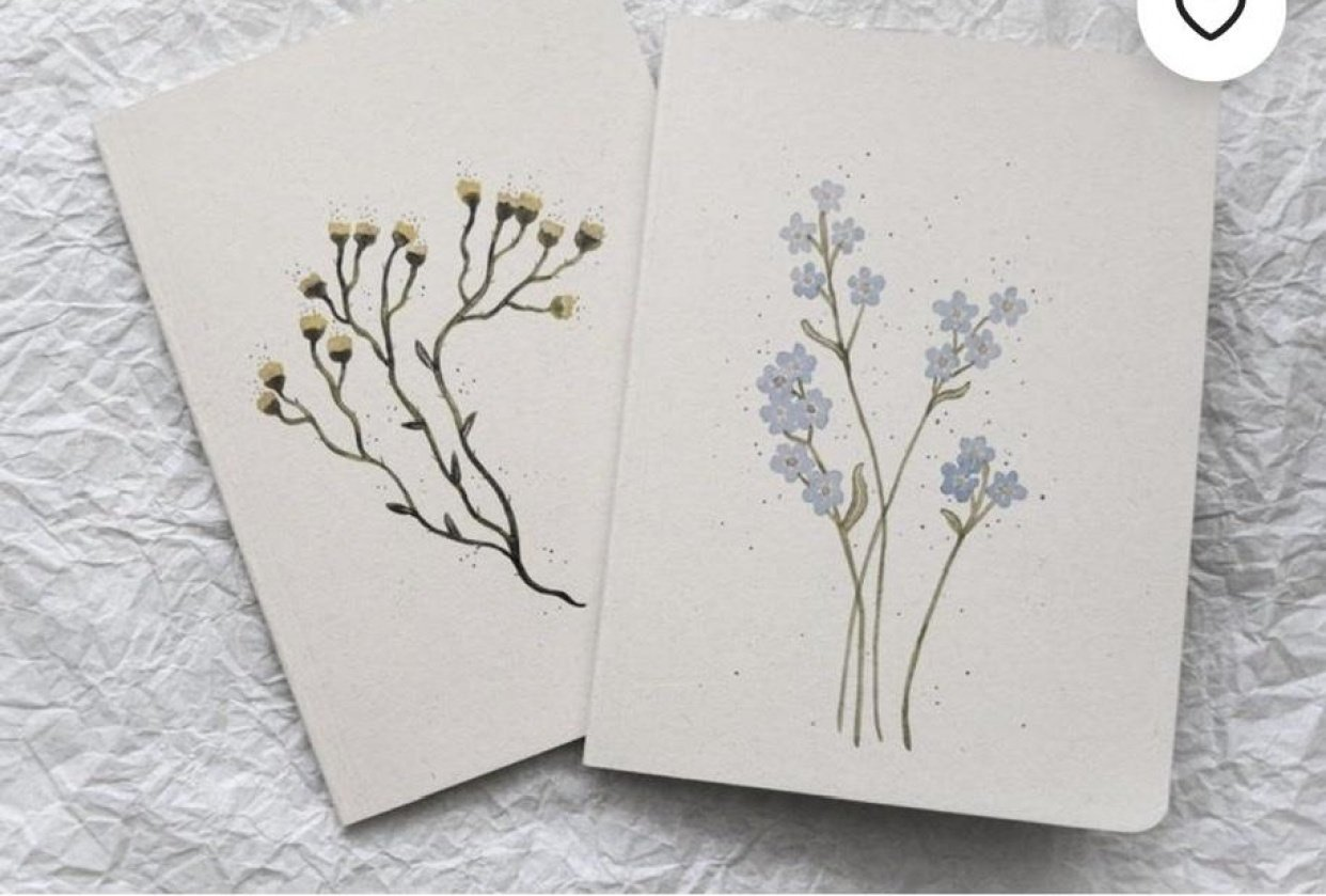 Eco-friendly stationery shop on ETSY - student project