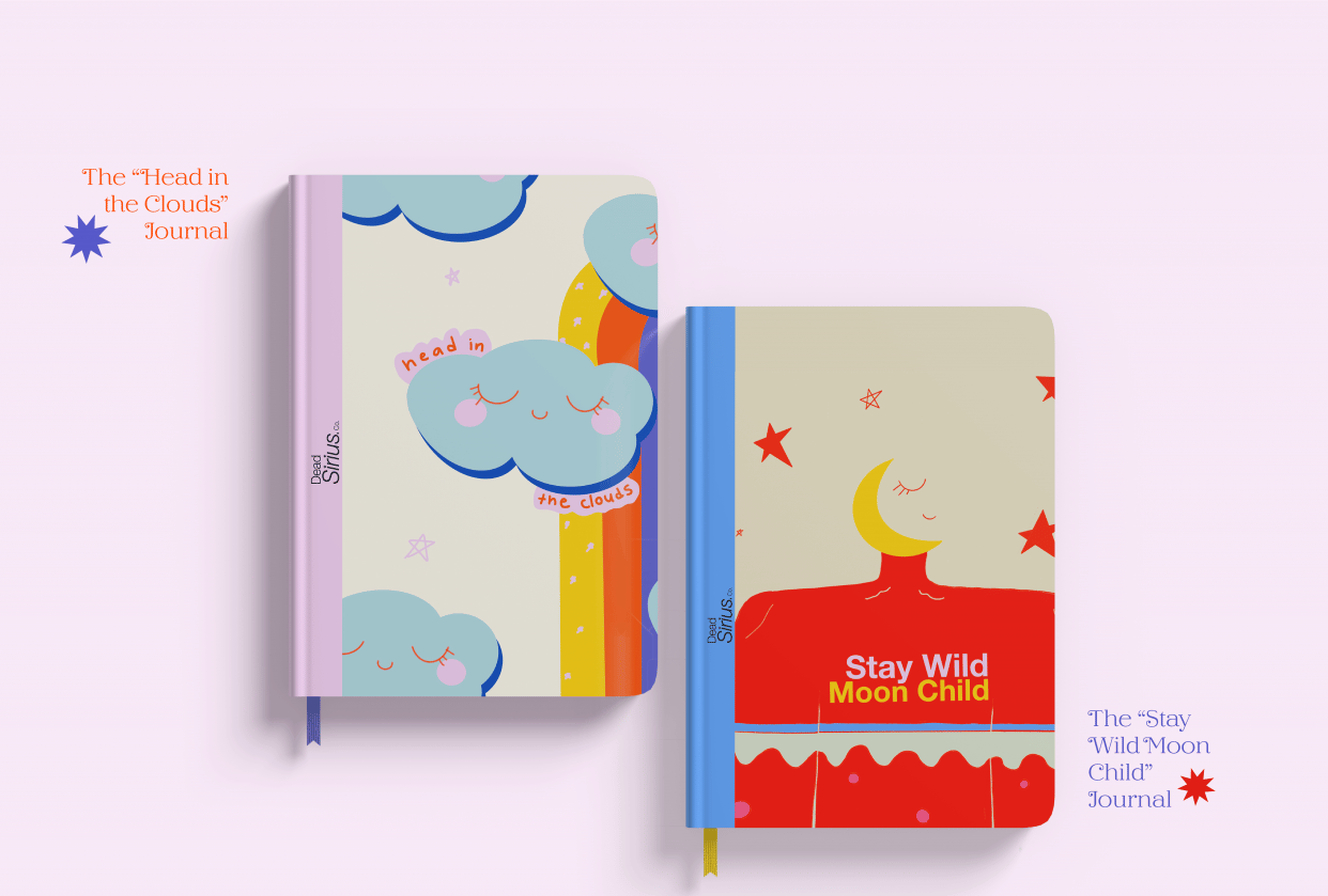 Dead Sirius Co. - Concept Stationery Brand - student project
