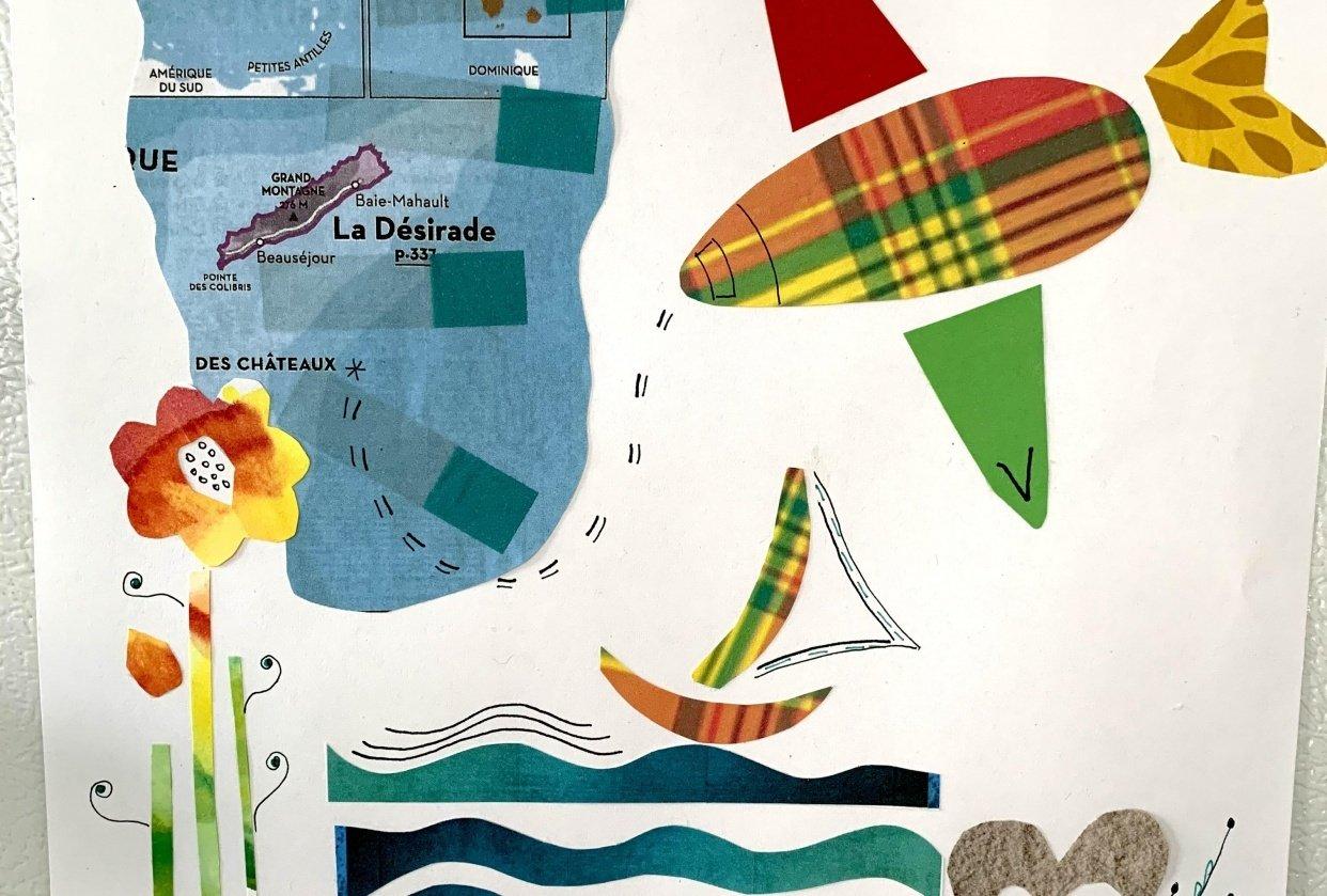 Histoires de collage ;-) - student project
