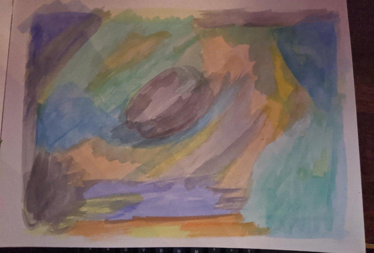 Ocean Storm - student project