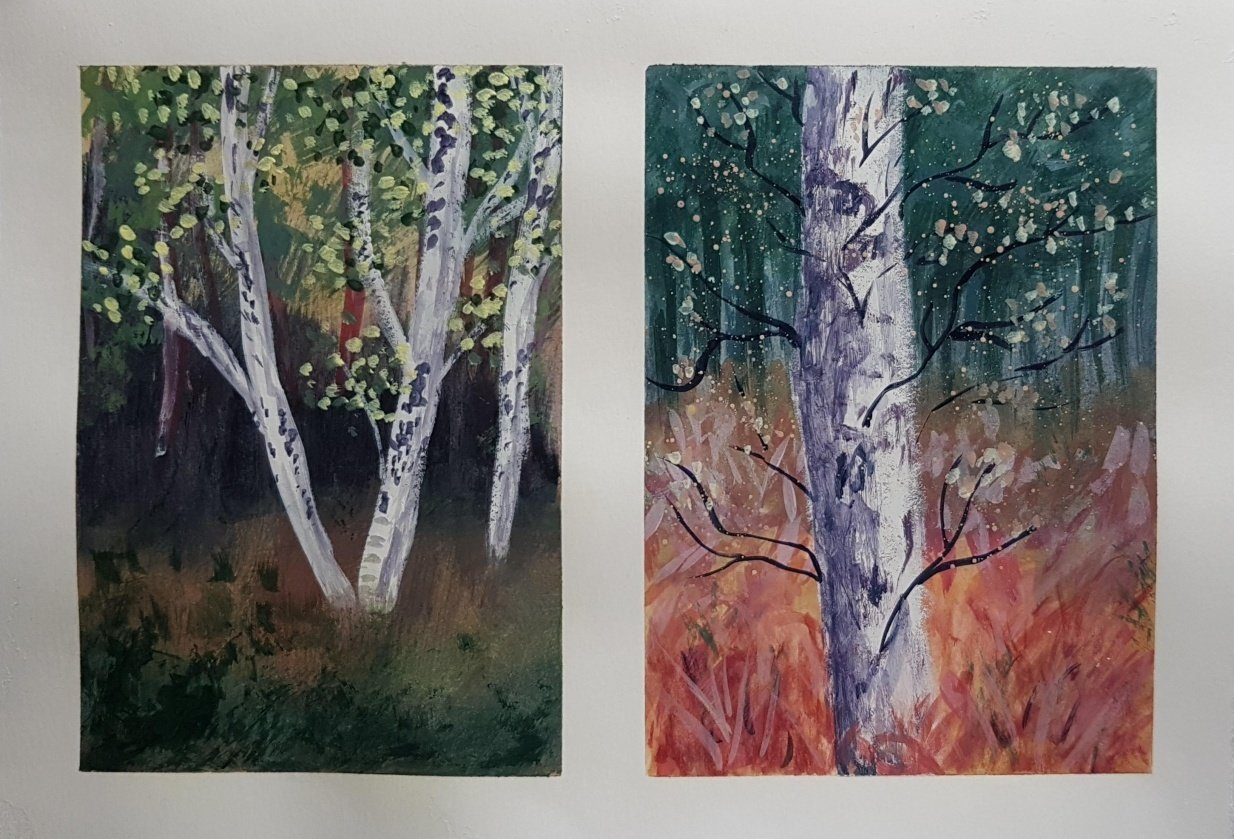 Autumn Forests - student project