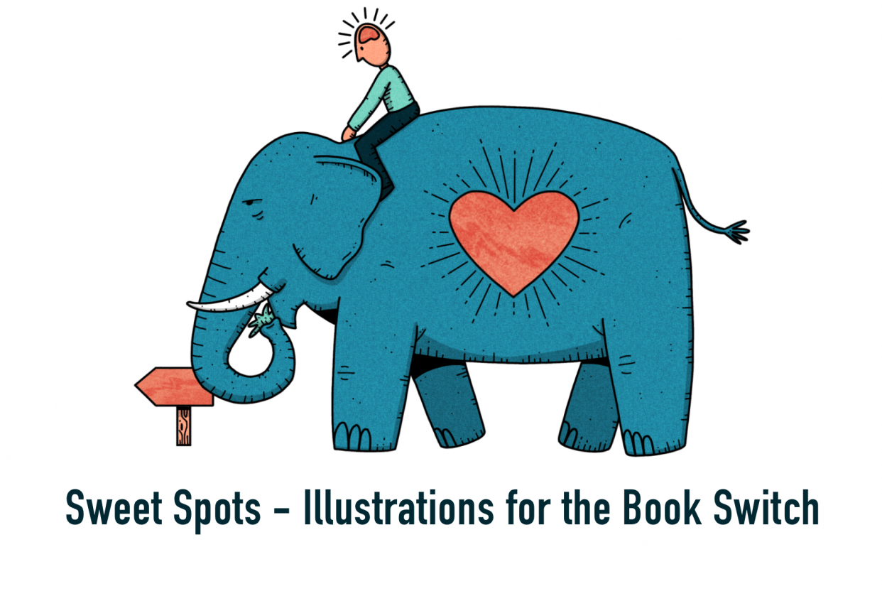 Sweet Spots – Illustrations for the Book Switch - student project