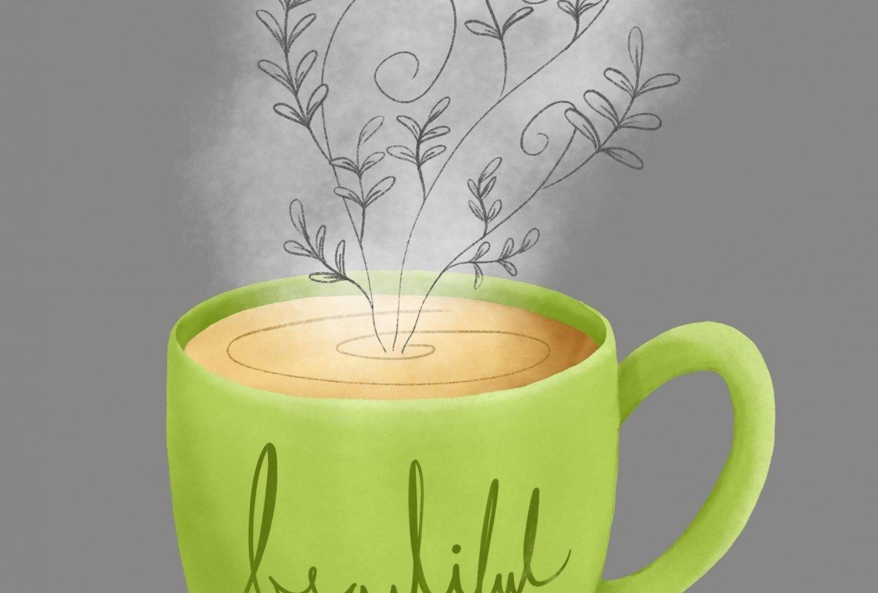 Motivational mug - student project