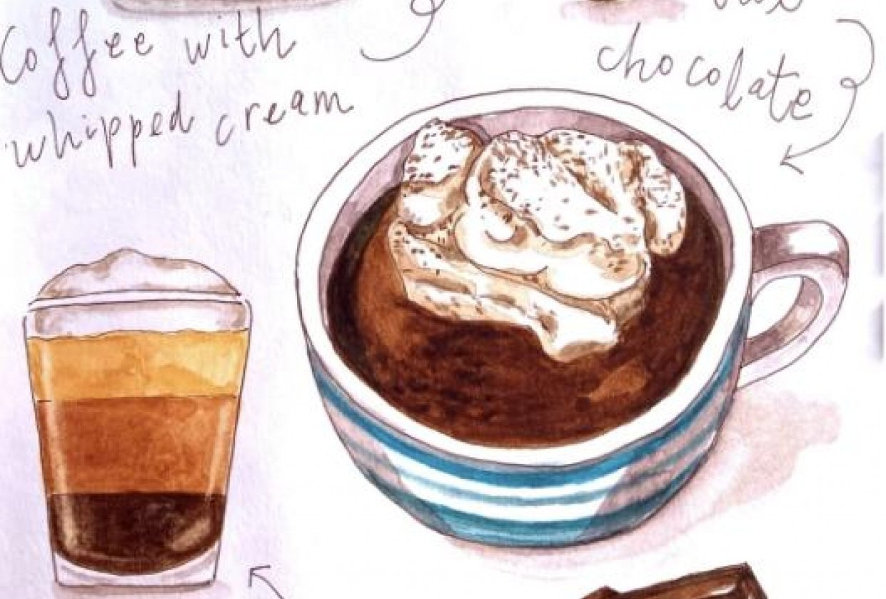 Coffee and chocolate - student project