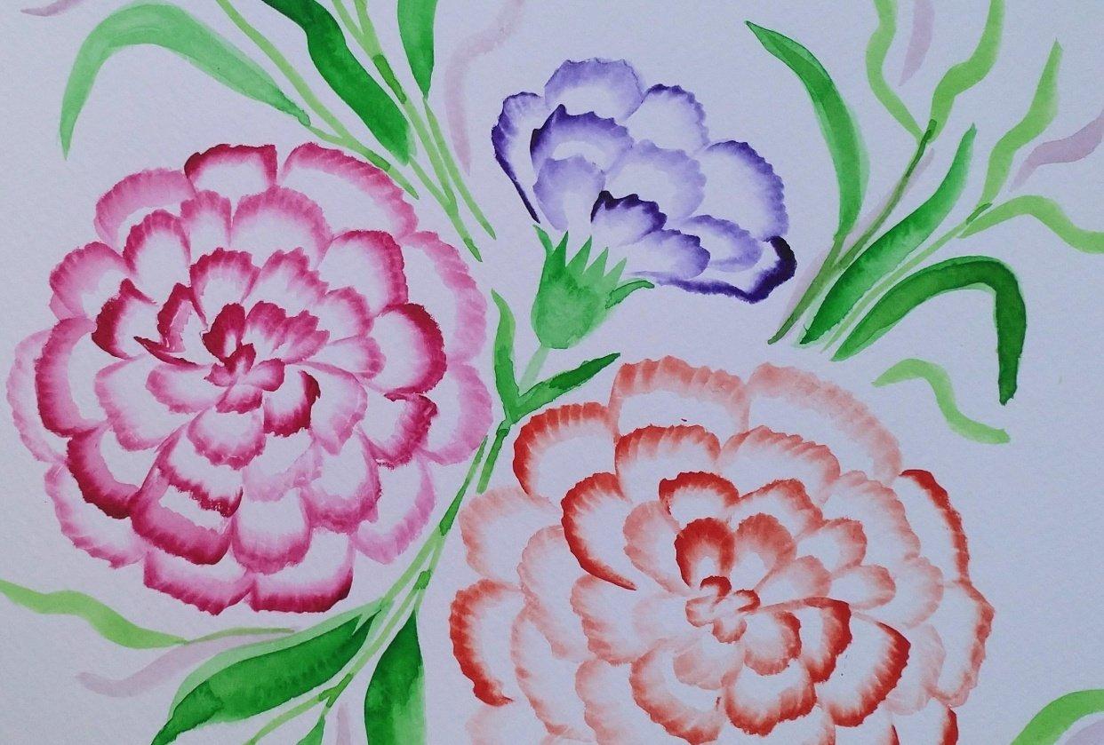 Addictive carnations - student project