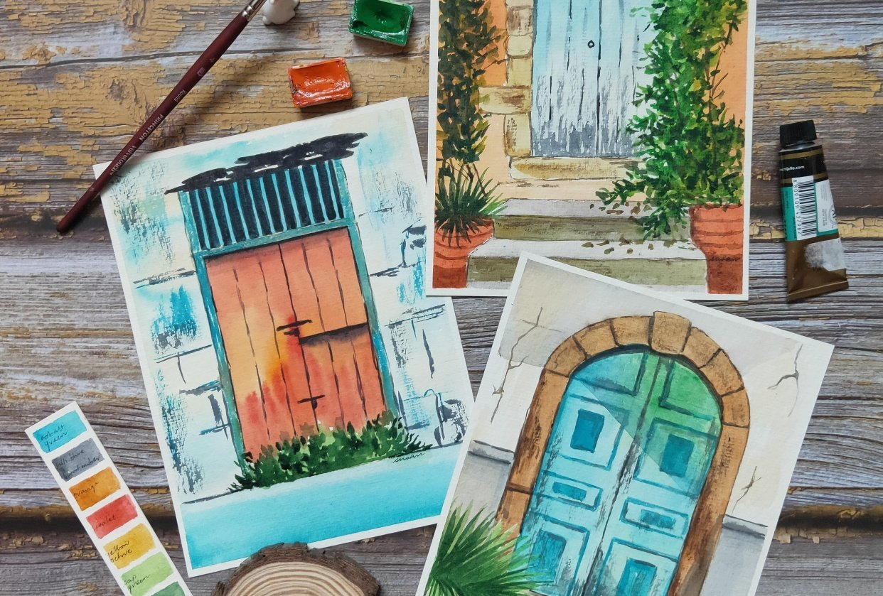 Rustic Doors! - student project