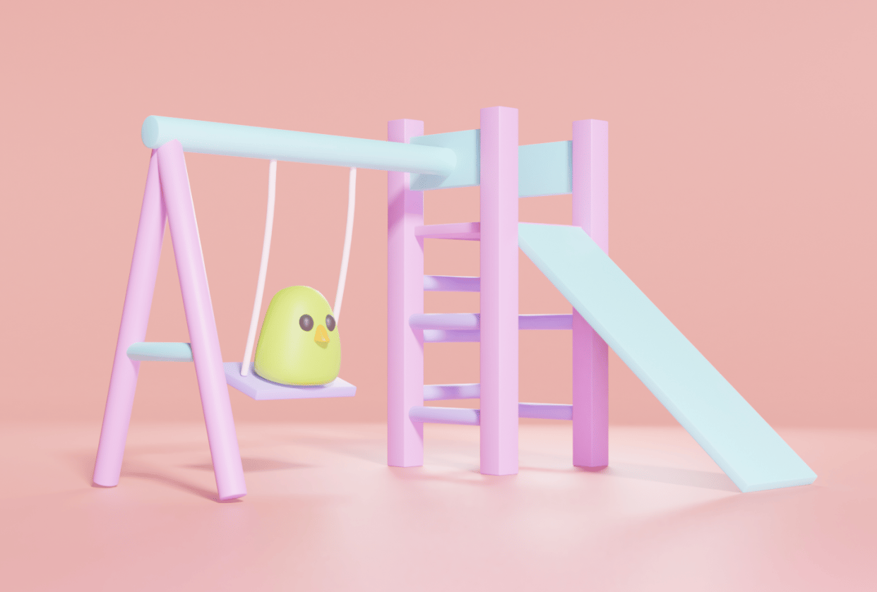 Bird On A Swing - student project
