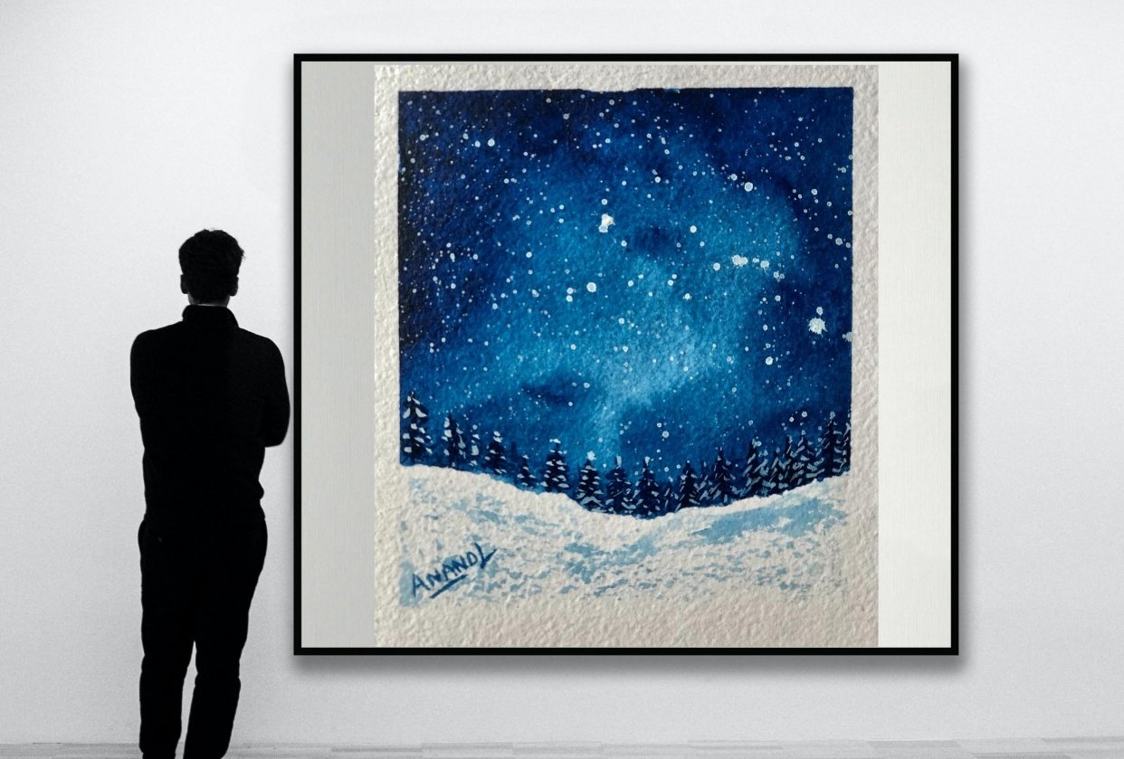 Snowy Galaxy - student project