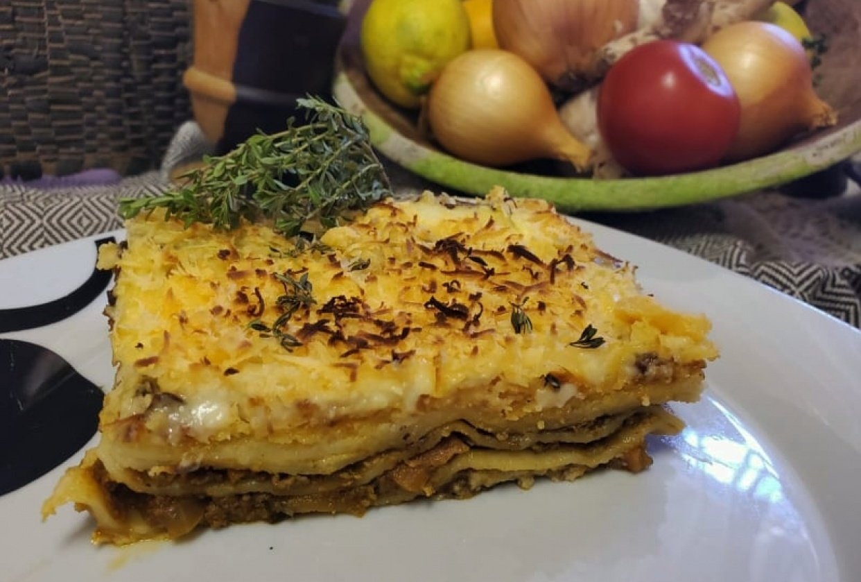 1st try home made lasagna - student project