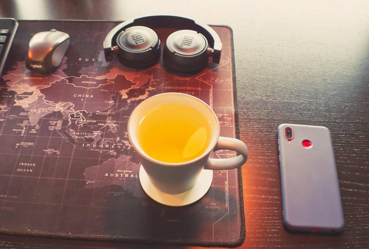 Chamomile tea - student project